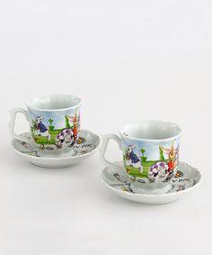 Cup & Saucer Set (2)