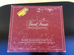 Vintage 1983 Trivial Pursuit Baby Boomer Subsidiary Card Set  #SelchowRighter