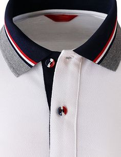 Grilling gift ideas [for men and women] Polo Shirt Style, Polo Shirt Outfits, Polo Shirt Design, Polo Design, Mens Polo T Shirts, Shirt Print Design, Sports Shirts, Mens Tees, Shirt Designs