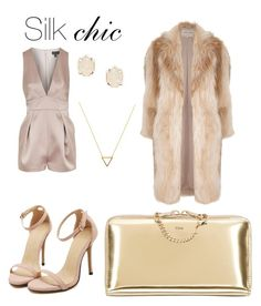 """Silkchic"" by ashseymour-beauty on Polyvore featuring Topshop, Chloé, Kendra Scott, Wanderlust + Co and River Island"