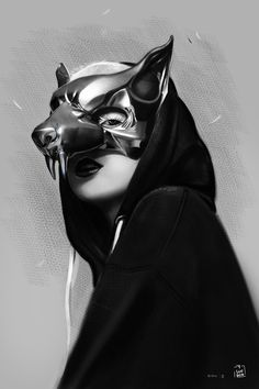 Yolandi Visser Illustration by vurdeM                                                                                                                                                     More                                                                                                                                                                                 More