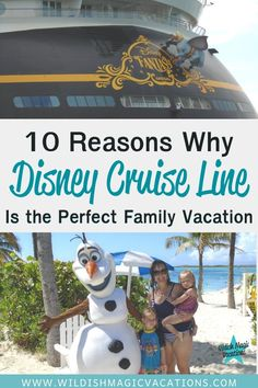 Are you searching for ideas on the perfect vacation to take your family on this year? Disney Cruise Line is the answer! Read this post to see the top 10 reasons why I believe Disney Cruise Line is the perfect family vacation.