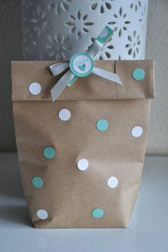 Geschenkverpackung kette basteln