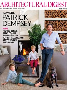 Patrick Dempsey Home AD2
