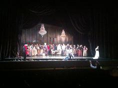 Ensayo de La Traviata, con el Coro Intermezzo, dirigido por Renato Palumbo