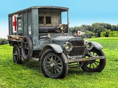 1917 Ambulance, World War One ~ Dave Mills ~