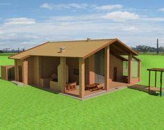 Projeto arquitetônico da Santos & Delgado, com tijolo ecológico, cisterna, fossa biodigestora, painéis solares, em PiratininganSP