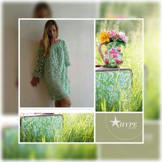 Φόρεμα με ρομαντική διάθεση για μοναδικές στιγμές. shop on line : hype.gr
