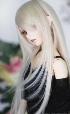 BJD CROBI WIG CRWL-80 (Milky Blond) | 総合ドール専門通販サイト - DOLKSTATION(ドルクステーション) Anime Dolls, Blythe Dolls, Doll Clothes Barbie, Barbie Dolls, Dainty Doll, Monster High, Enchanted Doll, Kawaii Doll, Realistic Dolls