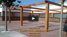 Montaje pérgolas y porches carpintería para restaurantes PARTE [ 15 ] MONTAJES M3