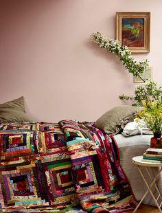 Beautiful quilt! via idhalindhag
