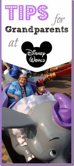 Tips for grandparents at Disney World - what to do & what NOT to do