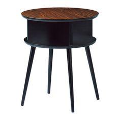 BJÄLLSTA Soffbord IKEA Fanerad bordsyta som är slitstark, fläcktålig och lätt att hålla ren.