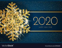 Illustration about Merry Christmas greeting card. Gold snowflake on Dark blue background. Merry Christmas and Happy New Year text. Illustration of christmas, illustration, dark - 133063973 Happy Chinese New Year, Happy New Year Text, Happy New Year Photo, Happy New Year Images, Happy New Year Cards, Happy New Year Wishes, Happy New Year Greetings, New Year Greeting Cards, Happy New Year 2020