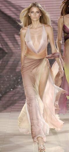 Versace I runway