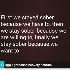 Many people struggling with drug addiction think that recovery is nearly impossible for them. They've heard the horror stories of painful withdrawal symptoms, they can't imagine life without drugs, and they can't fathom actually being able to get. Sober Quotes, Aa Quotes, Sobriety Quotes, Life Quotes, Career Quotes, Dream Quotes, Quotes Images, Success Quotes, Addiction Recovery Quotes