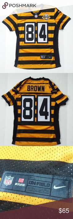 2ad14d2b8 Antonio Brown Steelers 2012 Jersey Medium Nike NFL You are purchasing a  2012 Antonio Brown Pittsburgh
