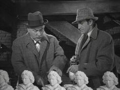 Nigel Bruce and Basil Rathbone in the Pearl of Death