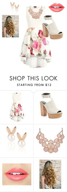 """""""SPRING FORMAL"""" by air-bear-disigns on Polyvore featuring Rebecca Minkoff, Aamaya by priyanka and Fiebiger"""