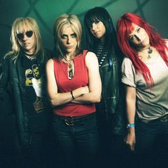 A new documentary about the iconic band, Pretend We're Dead, which chronicles L7's dramatic rise from art punks in the Echo Park neighborhood of Los Angeles to MTV stars, is garnering accolades, and even more significantly, it has even gotten the band back together.  After 18 years apart, the excitement
