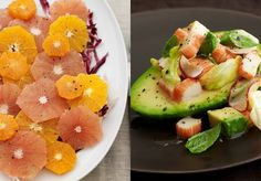 Cooking with Joy - Citrus Salad and Avocado Salad - you don't have to choose one