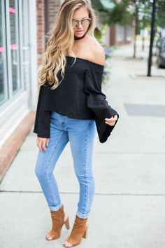Bell Of The Ball Off The Shoulder Top