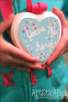 DIY tutorial on how to make a Wreck It Ralph You're My Hero Cookie Medal for homemade costume
