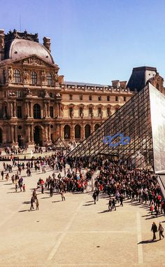 http://parisisparis.com/ Paris travel tip: Buy tickets for the Louvre online so you don't have to wait in this line!