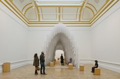 Installation by Diebedo Francis Kere. © Royal Academy of Arts, London, 2014. Photography: James Harris © Kere Architecture