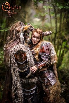 Fantasy Celtic Warrior Cosplay Dances With Wolves