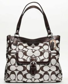 COACH POPPY SIGNATURE C CROSSHATCH CANVAS GLAM TOTE - Tote Bags - Handbags   amp  Accessories d777f200091cb