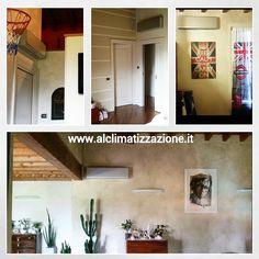 Installazione in abitazione privata a #Concesio #Brescia di #Climatizzatori #quadrisplit Marca #LG. www.alclimatizzazione.it