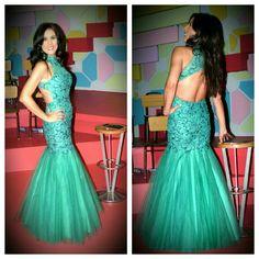 Verde que te quiero verde... @vertizegala #fiesta #moda #novias #glamour #elegancia #estilo