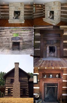 Examples of our Log Cabin Restoration and Relocation Work