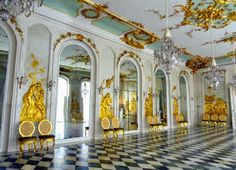 Interior, Neues Palais.