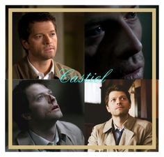 """""""Favorite Character: Supernatural - Castiel."""" by the-girl-with-the-dragon-tattoo ❤ liked on Polyvore featuring art"""