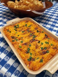 BBQ Chicken Dip - chicken, cream cheese, bbq sauce, ranch dressing, cheese and green onions - I could eat this dip as a meal!! SOOOO good! Great dip recipe for parties. Everyone always wants the recipe.