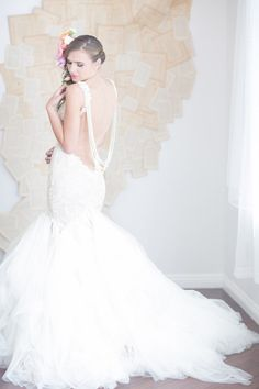 Backless Wedding Dress - Galia Lahav - Patchouli Bridal Gown (10)