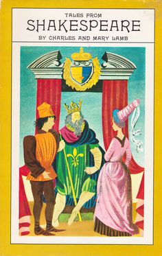 Tales from Shakespeare by Charles & Mary Lamb, illustrated by Leonard Weisgard. Published by Nelson Doubleday, Inc. (Book Club Edition) in 1955.