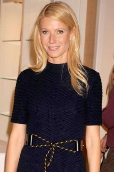 I have severe mixed feelings about La Paltrow, but she is stunning here, full stop. Love it when she goes long, blonde & simple.