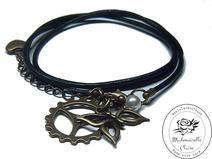 Armband echt Leder - vintage Zahnrad II Claire, Etsy, Bracelets, Vintage, Jewelry, Fashion, Handmade, Wristlets, Schmuck