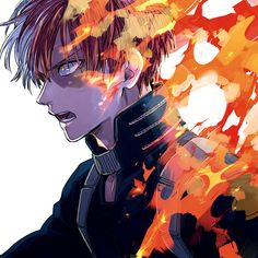 Todoroki Shouto by nitrokio102 on DeviantArt
