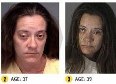 'Faces Of Drug Arrests' Tracks Suspects' Shocking Declines Through Mugshots (PHOTOS) #WhatDrugUseDoesToWomenOverTime