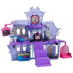 Have: Monster High Minis Playset