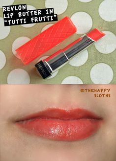 Revlon Lip Butter in Tutti Frutti: Review and Swatch