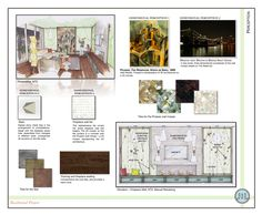Interior Design Presentation Boards Examples | http://www.earthbalance-interiors.com/interior-design-portfolio/