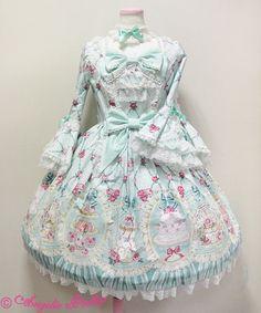 Angelic Pretty Salon de the Rose in Mint « Lace Market: Lolita Fashion Sales and Auctions