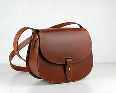 Leather purse crossbody New Leonorus, handmade leather bag, Brown handbag, shoulder bag, Saddle bag Tan Leather Handbags, Leather Saddle Bags, Leather Satchel, Calf Leather, Leather Wallet, Leather Backpacks, Brown Leather Purses, Leather Belts, Leather Bags Handmade