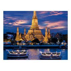 Bangkok Postcard - tap to personalize and get yours #Postcard #peninsula #bangkok #esotic #she #ale Thailand Art, Thailand Travel Tips, Peninsula Bangkok, Phuket Airport, Funny Postcards, Birthday Postcards, Pattaya, Postcard Size, Tours