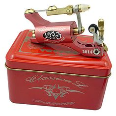 2013 Newest Stylish Top Rotary Tattoo Machine Gun(Red) – USD $ 86.09